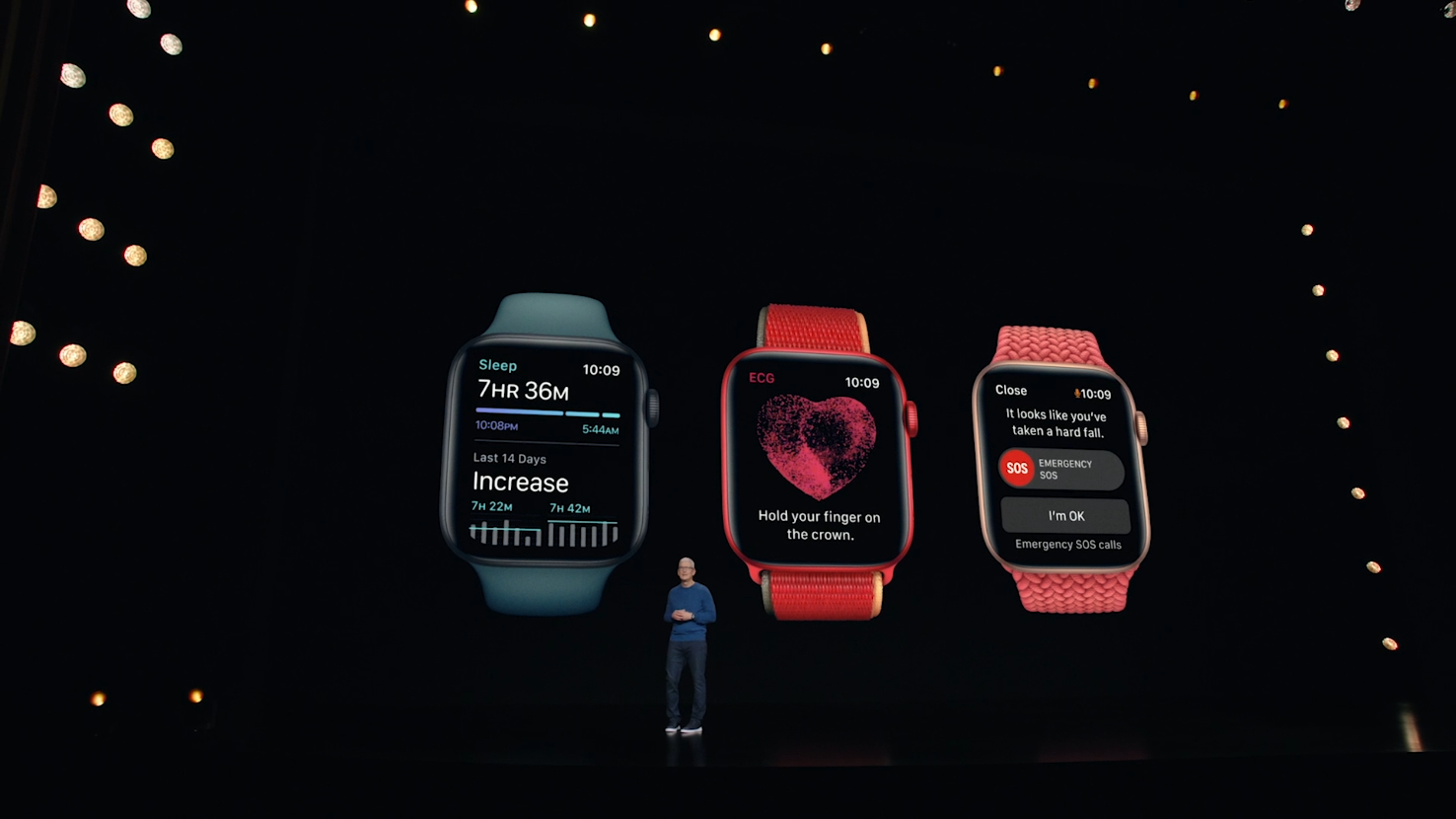 Apple launches new Watch with bigger screen