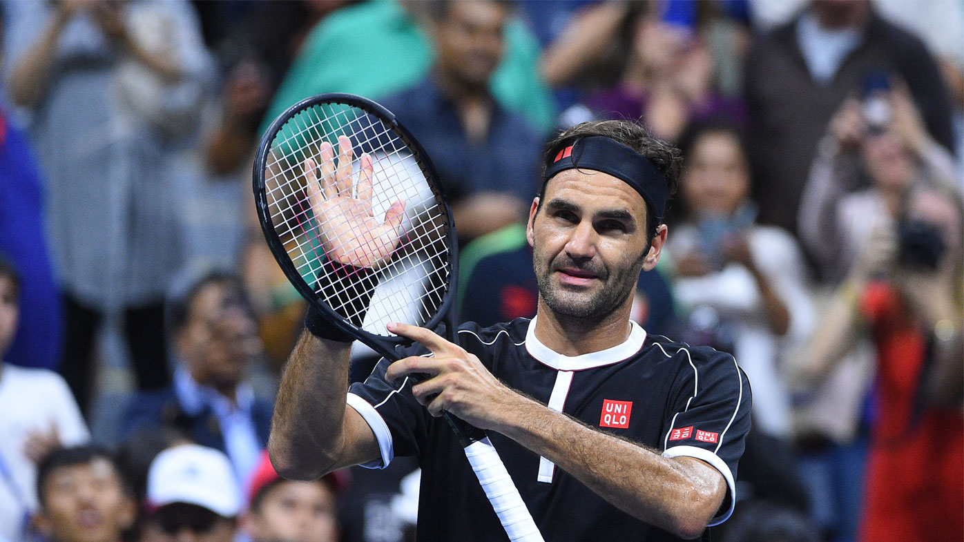 Federer won his first round clash in four sets.
