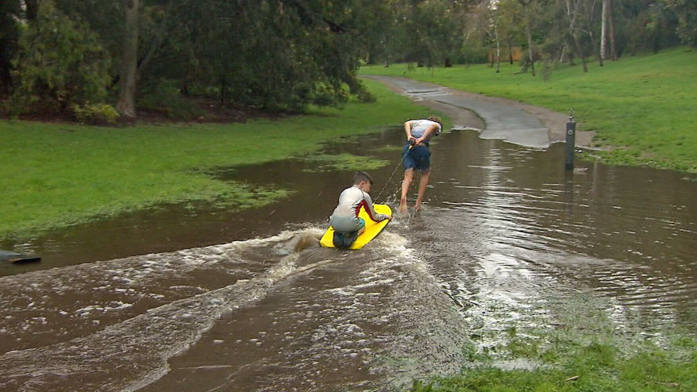 Melbourne receives biggest October downpour in ten years
