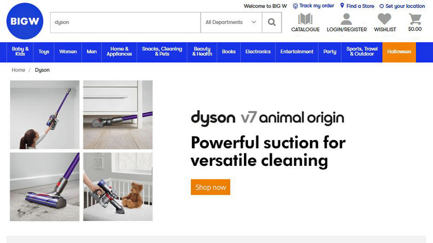 Big W lashed over faulty Dyson refunds