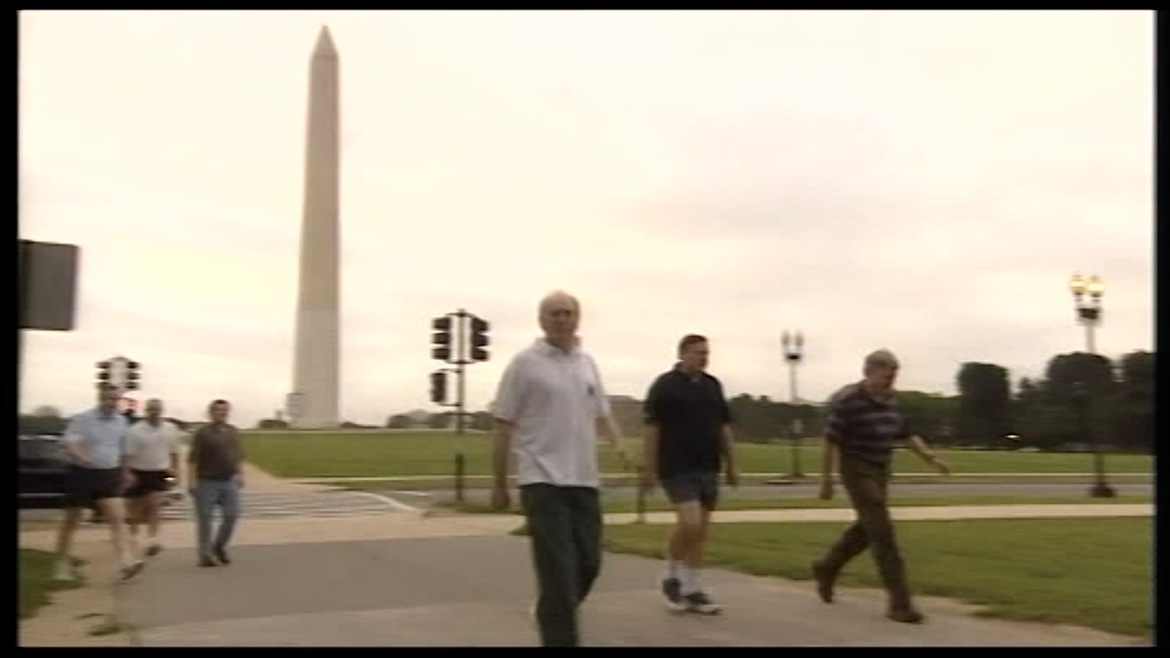 John Howard's morning walk on that fateful morning took him past some of the most iconic monuments in Washington, DC.