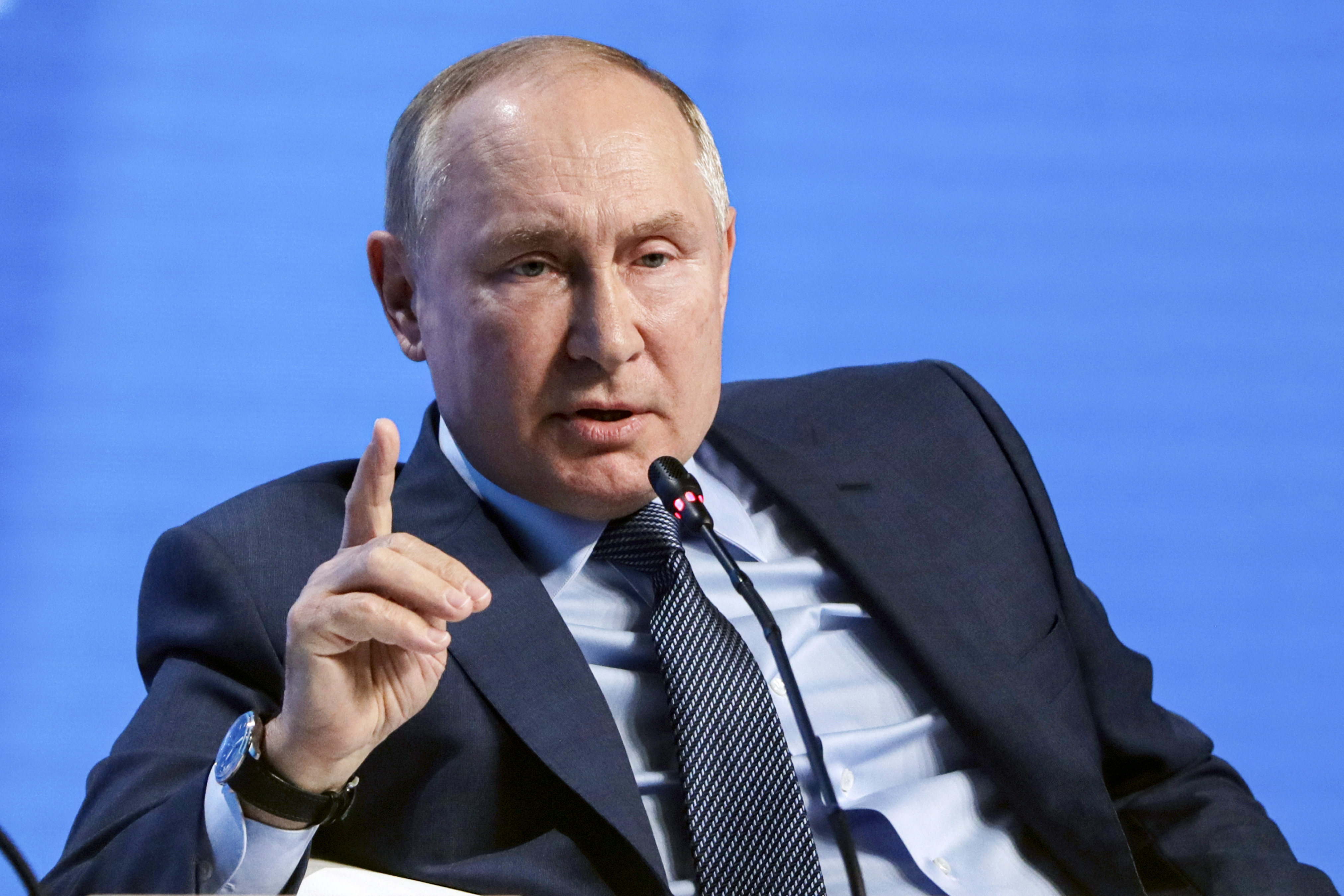 Putin says relations with Biden 'working and stable'