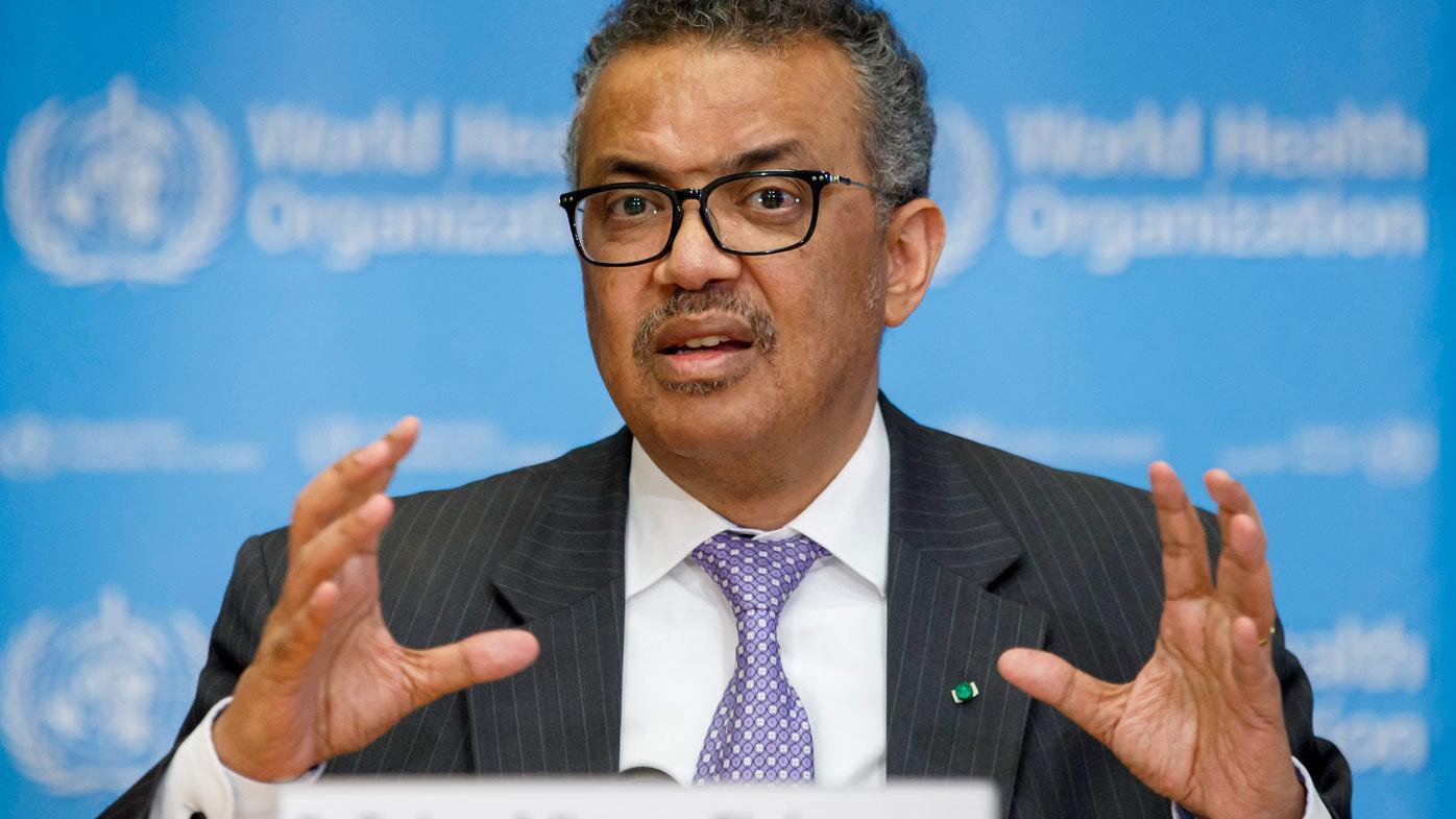 WHO chief warns coronavirus pandemic 'far from over'