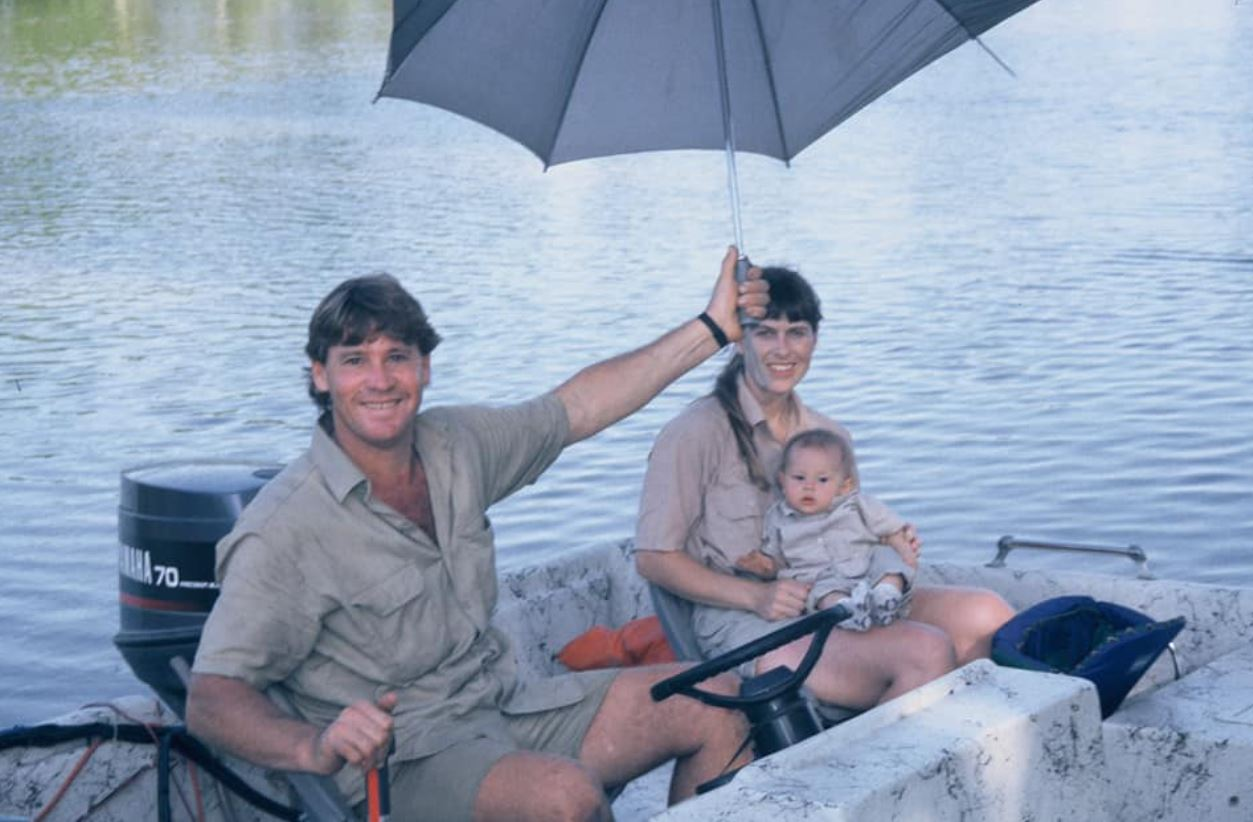 Bindi Irwin, Steve Irwin,Terri Irwin
