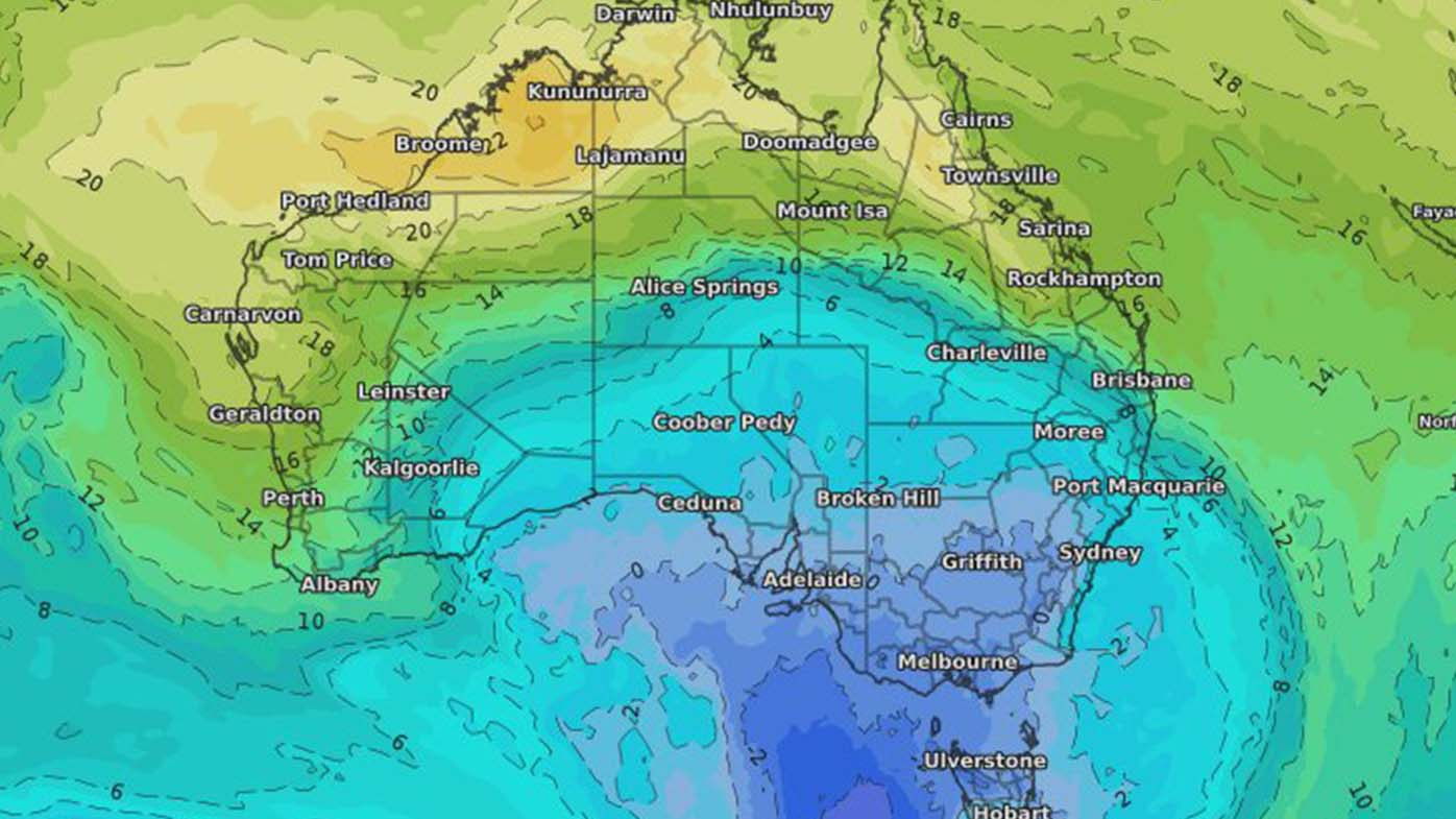 'Unusual' cold front to bring early snow to Australia