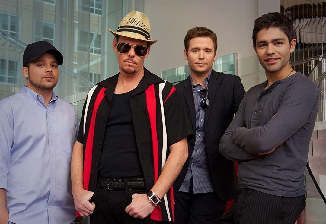 The cast of Entourage.