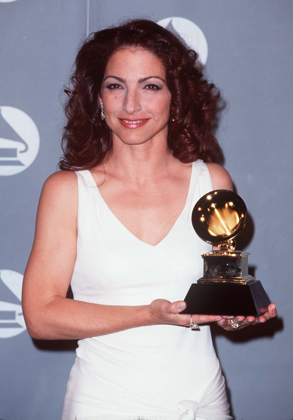 Gloria Estefan during The 38th Annual GRAMMY Awards - Arista Records Pre-GRAMMY Party at Beverly Hills Hotel in Beverly Hills, California, United States.