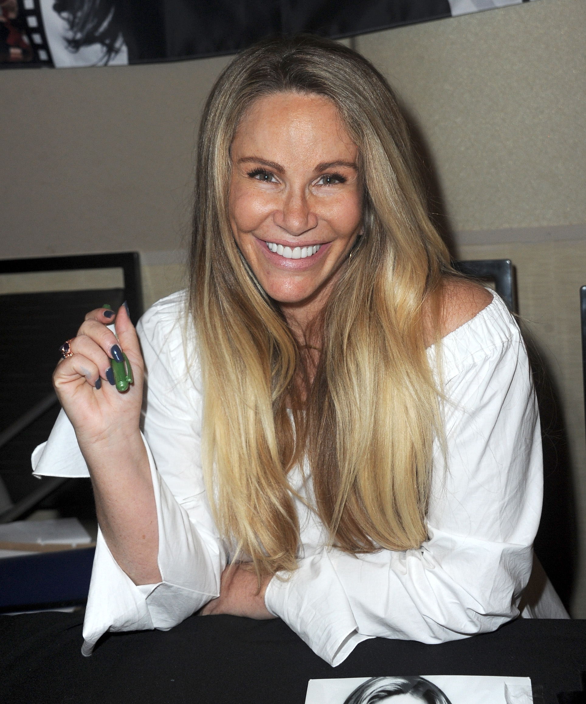 Tawny Kitaen at The Hollywood Show held at Westin LAX Hotel on October 21, 2017 in Los Angeles, California.