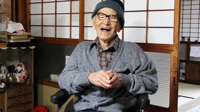 Jiroemon Kimura. (AAP)