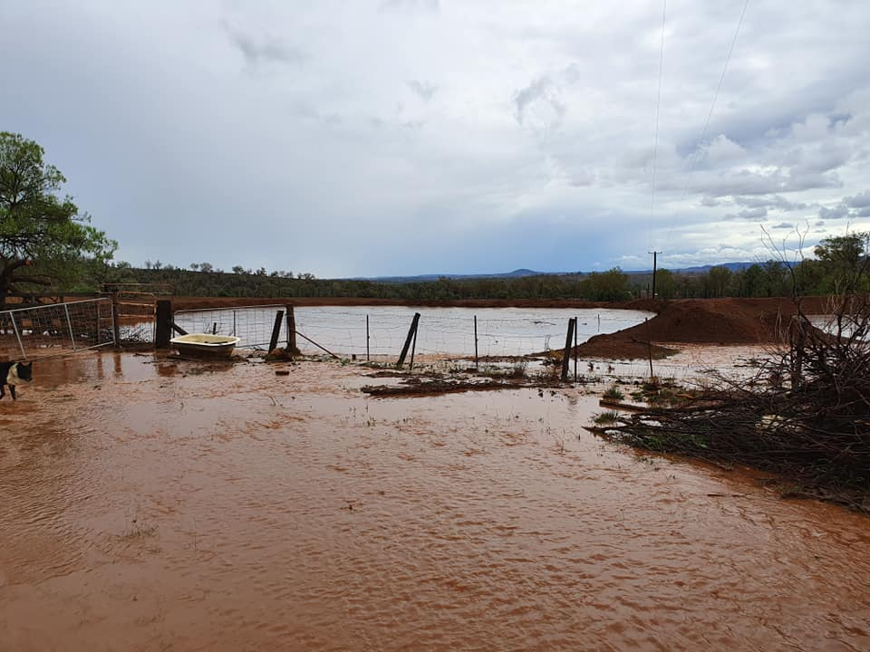 Water overflows from the famous  dam, after heavy rain fall on Saturday.