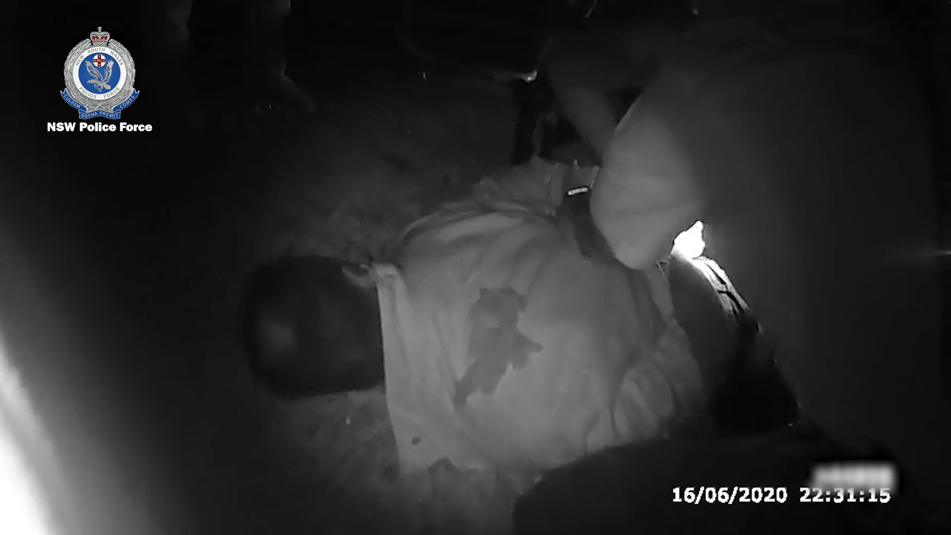 200617 NSW Central Coast police officers assault man arrest charges bodycam footage