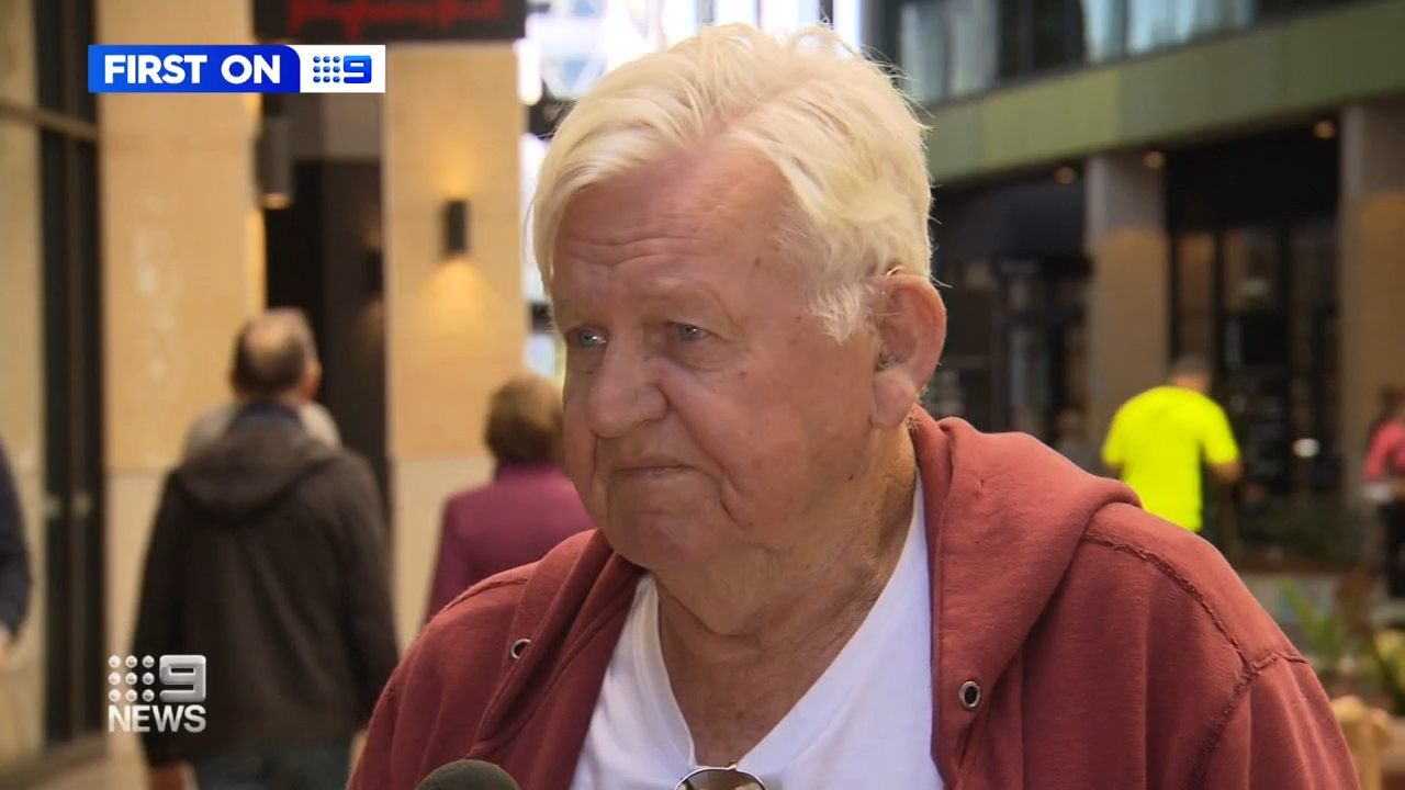 Queensland pensioner's shocking scooter robbery caught on camera