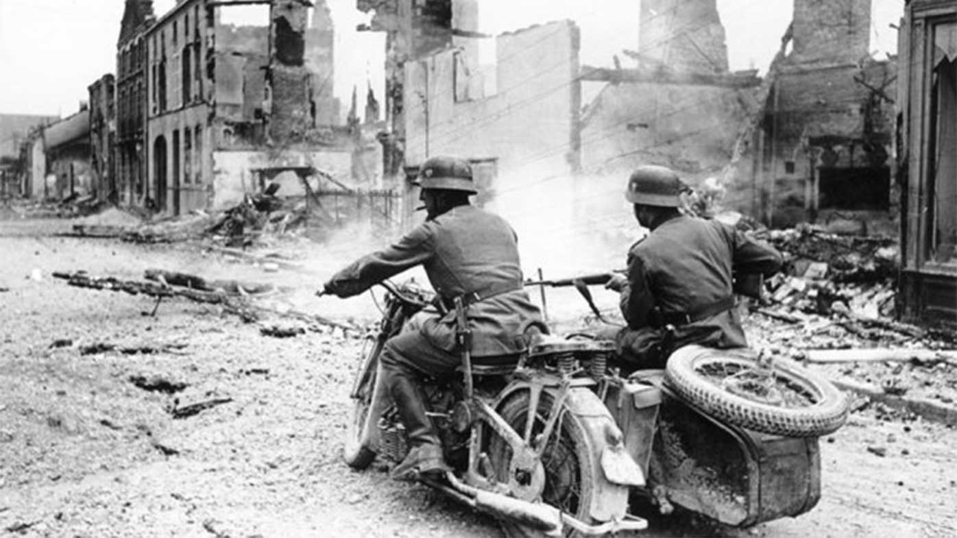 The German army's blitzkrieg tactics allowed them to make rapid advances into France in 1940.