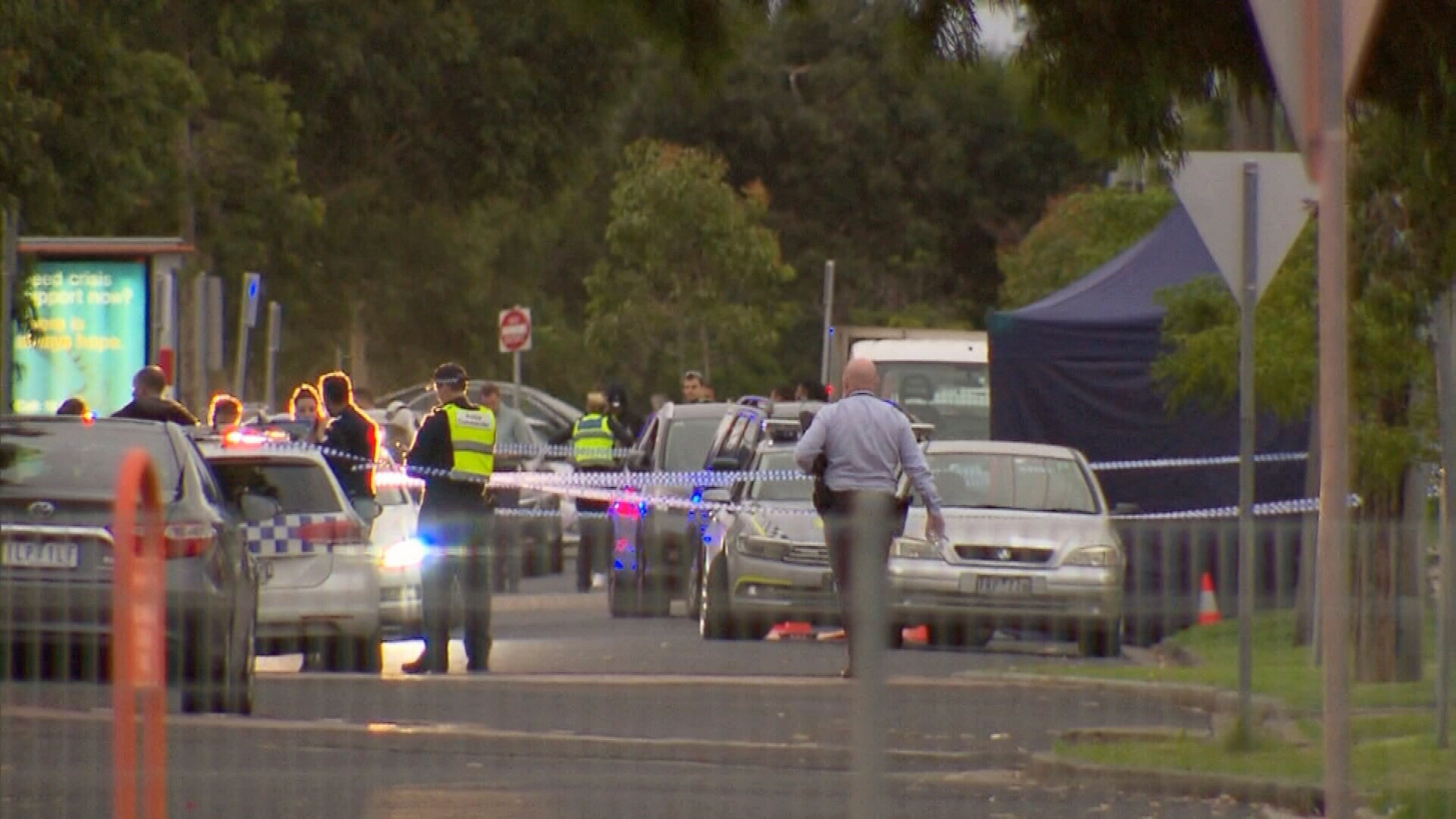 Man's death on busy Melbourne road linked to alleged road rage assault