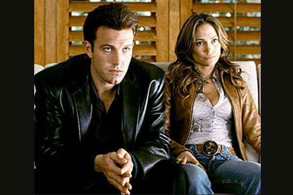 """<b>Movie:</b><i> Gigli</i><br/>""""Bennifer"""" didn't benefit from what's often called the worst movie ever made. It swept the Razzies and died at the box office, and now you can discover it for yourself on the home entertainment market. At least they've both since recovered from that low-of-all-lows in 2003."""