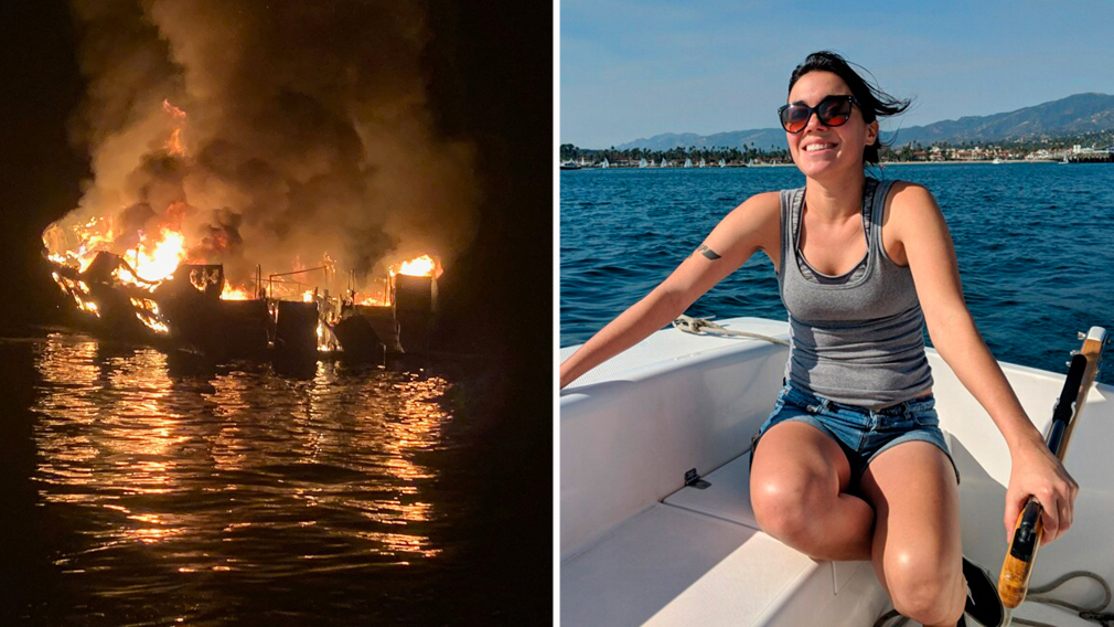 Dive boat blaze victims named as bodies pulled from wreckage