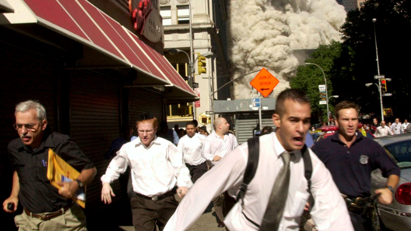 Man in iconic 9/11 photo dies of coronavirus