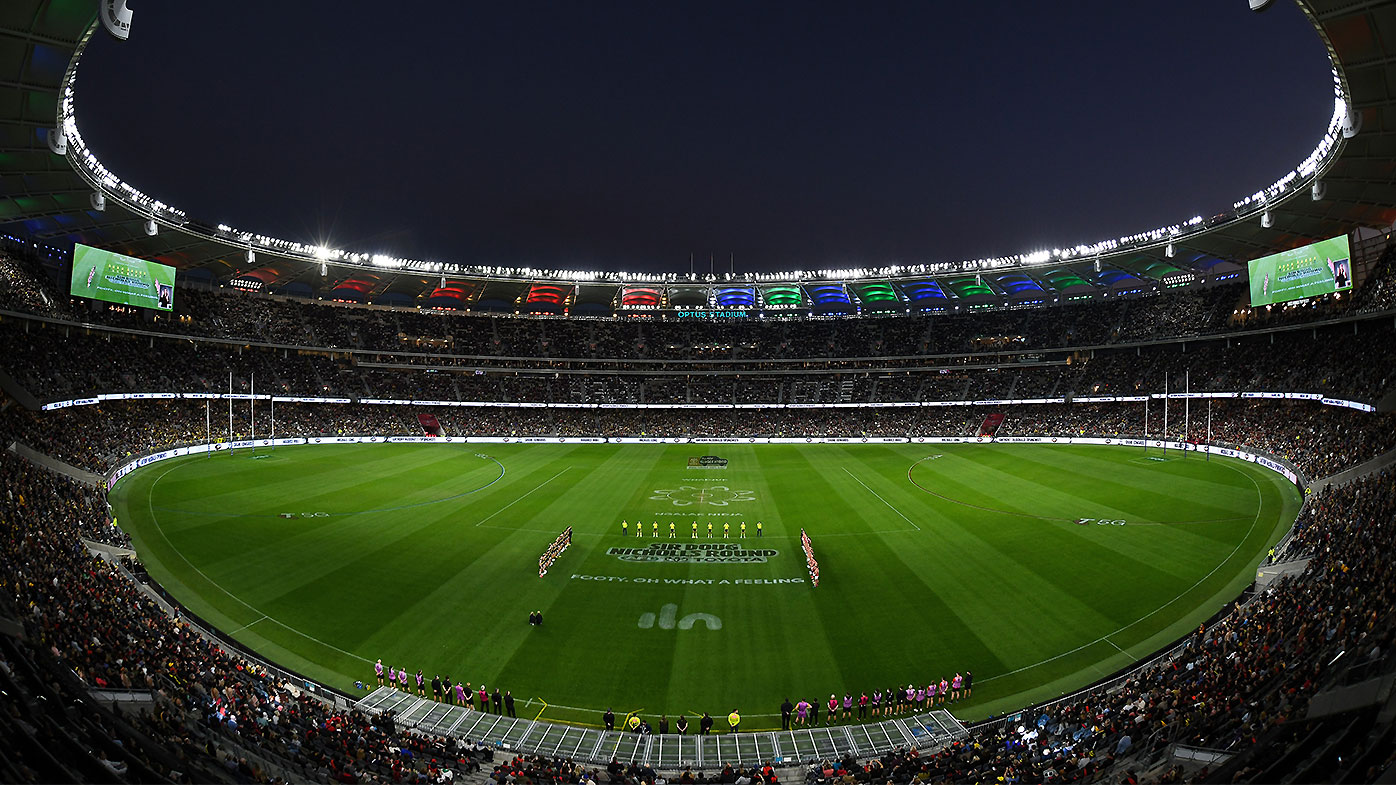 AFL grand final locked in for Perth