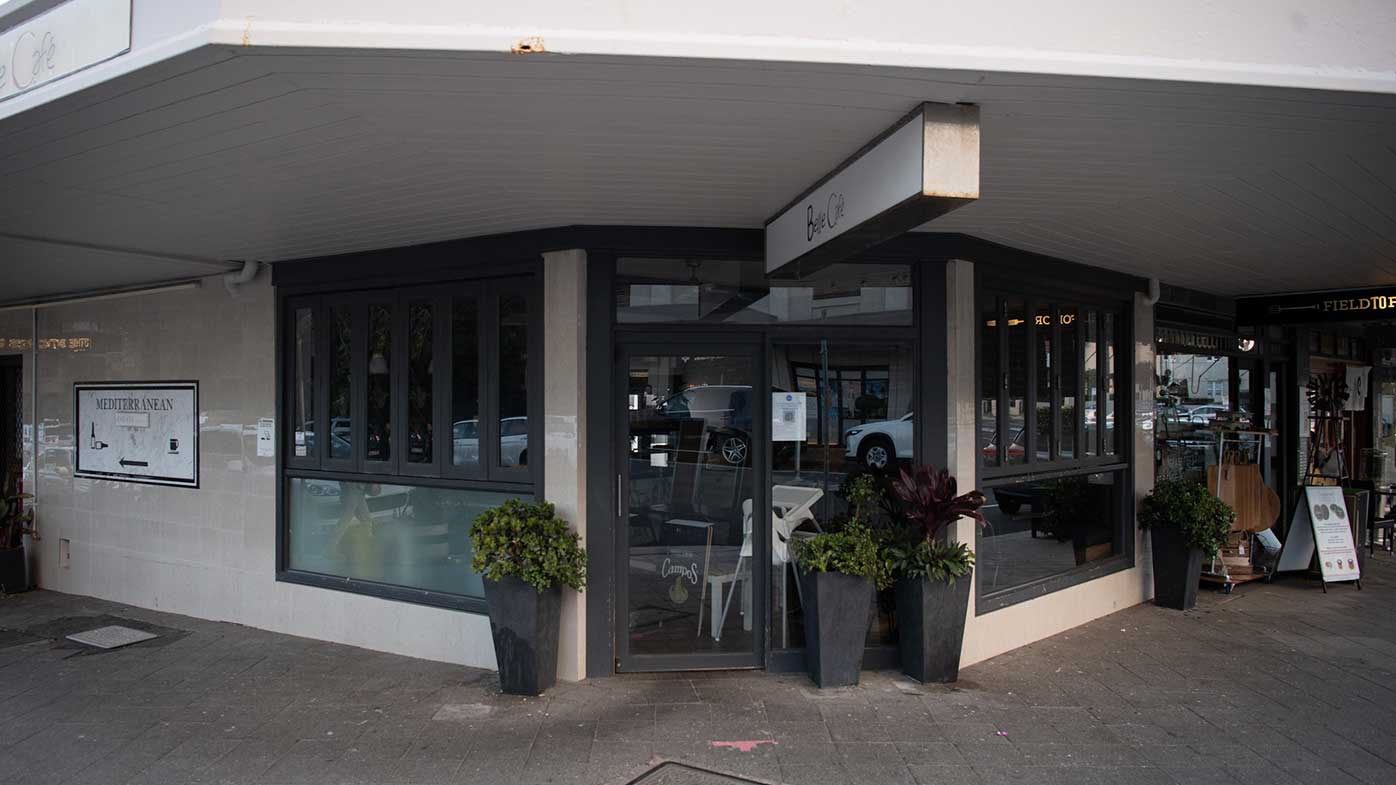The Belle Cafe in Vaucluse where a 70-year-old woman caught coronavirus.