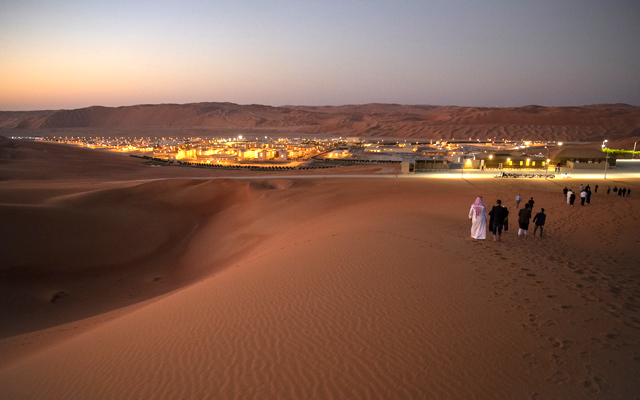 A view of Shaybah oilfield in Rub Al-Khali, Saudi Arabia. The highly anticipated sale of a sliver of the company has been generating global buzz because it could clock in as the world's biggest initial public offering, surpassing record holder Alibaba whose IPO raised $21.8 billion on its first day of trading in 2014. Facebook raised $16 billion in its 2012 IPO.