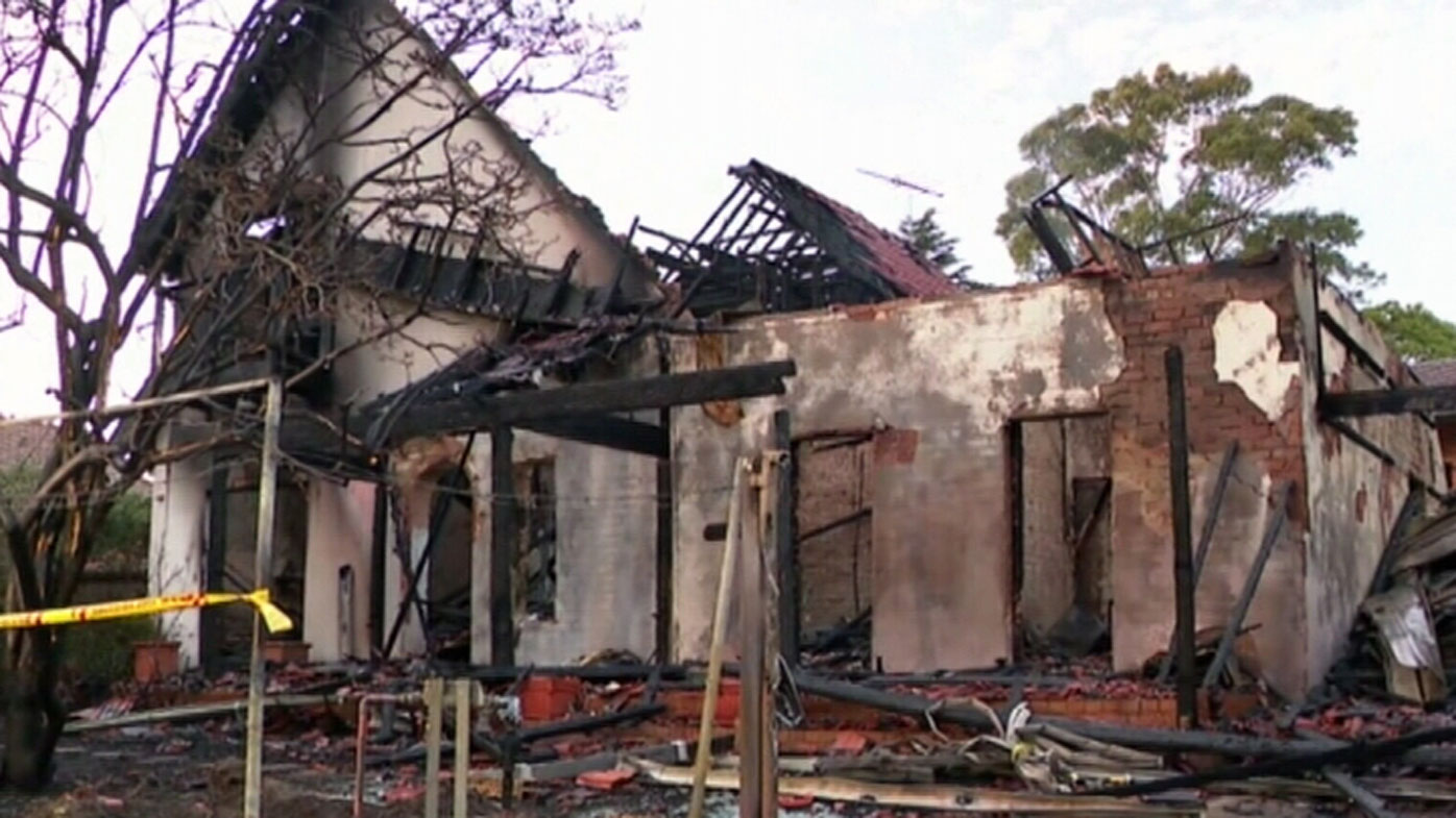 Fire which gutted Sydney home could have started in garage full of vintage cars