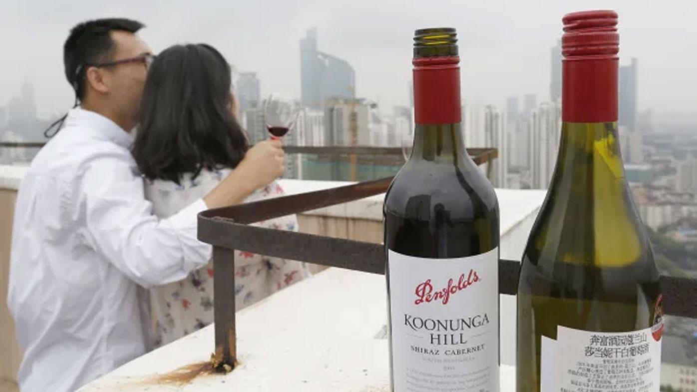 China will begin an anti-dumping investigation into Australian wine.