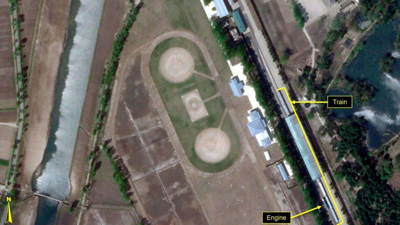 Satellite imagery finds likely Kim train amid health rumours