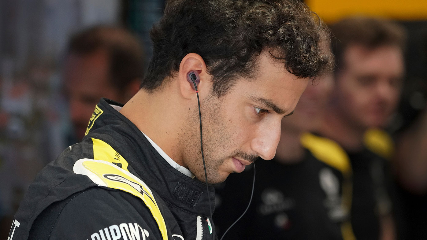 Daniel Ricciardo finished 14th for the 3rd time in four races.