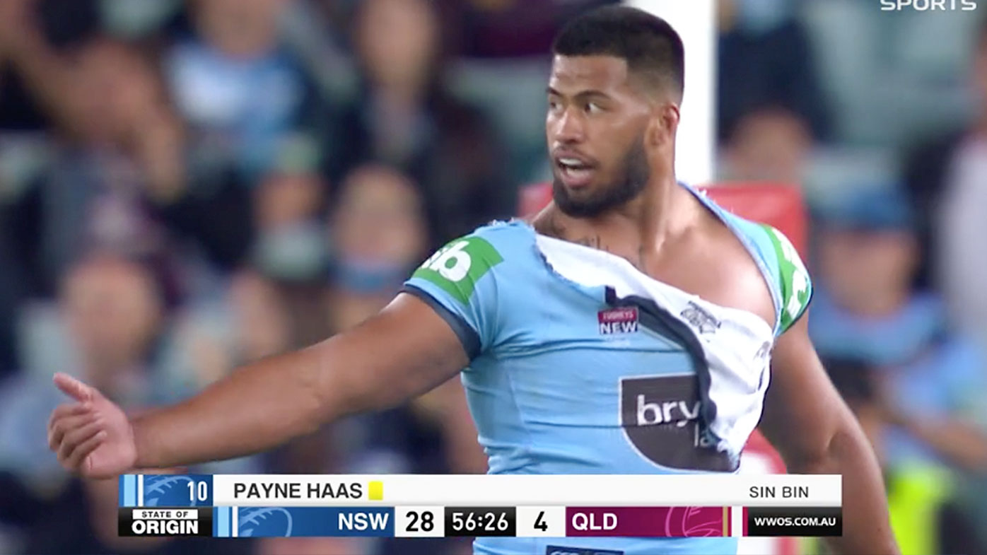 State Of Origin News Payne Haas Hits Back At Fa Asuamaleaui Claim After Origin Biff