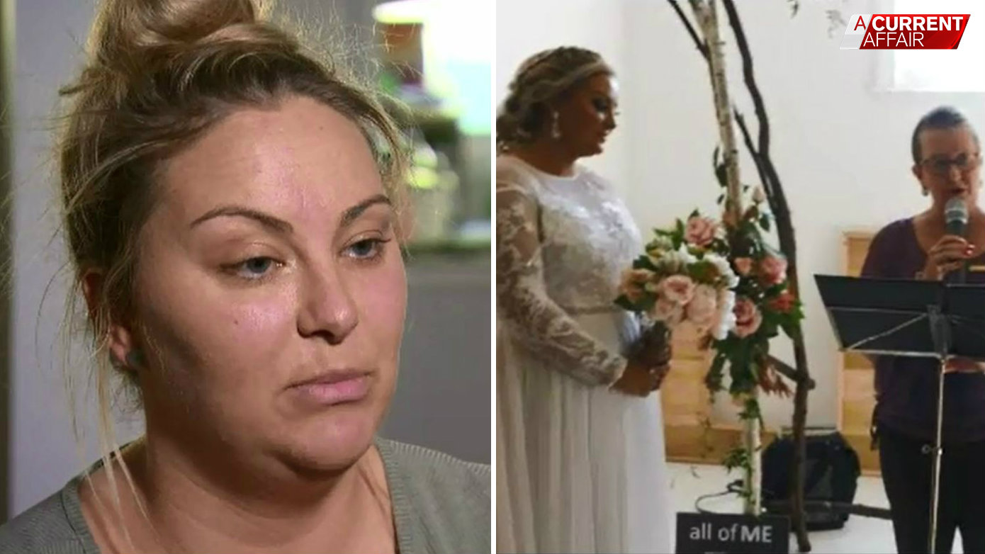 Wedding footage 'like Blair Witch Project' says angry bride