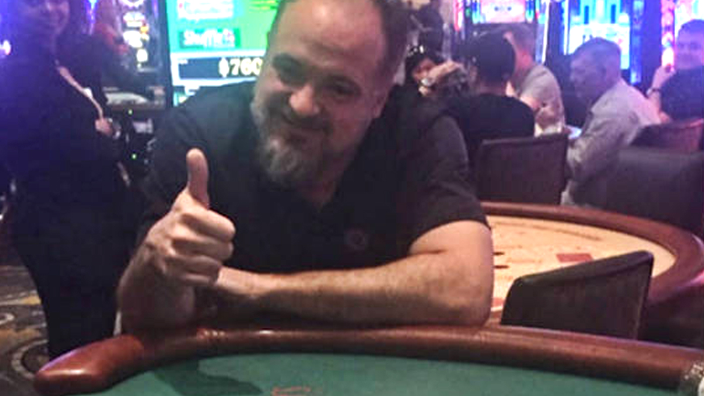 Kenneth Snoots, a Maryland resident, hit a royal flush while playing Mississippi Stud on Thursday at Bally's on the Las Vegas Strip.