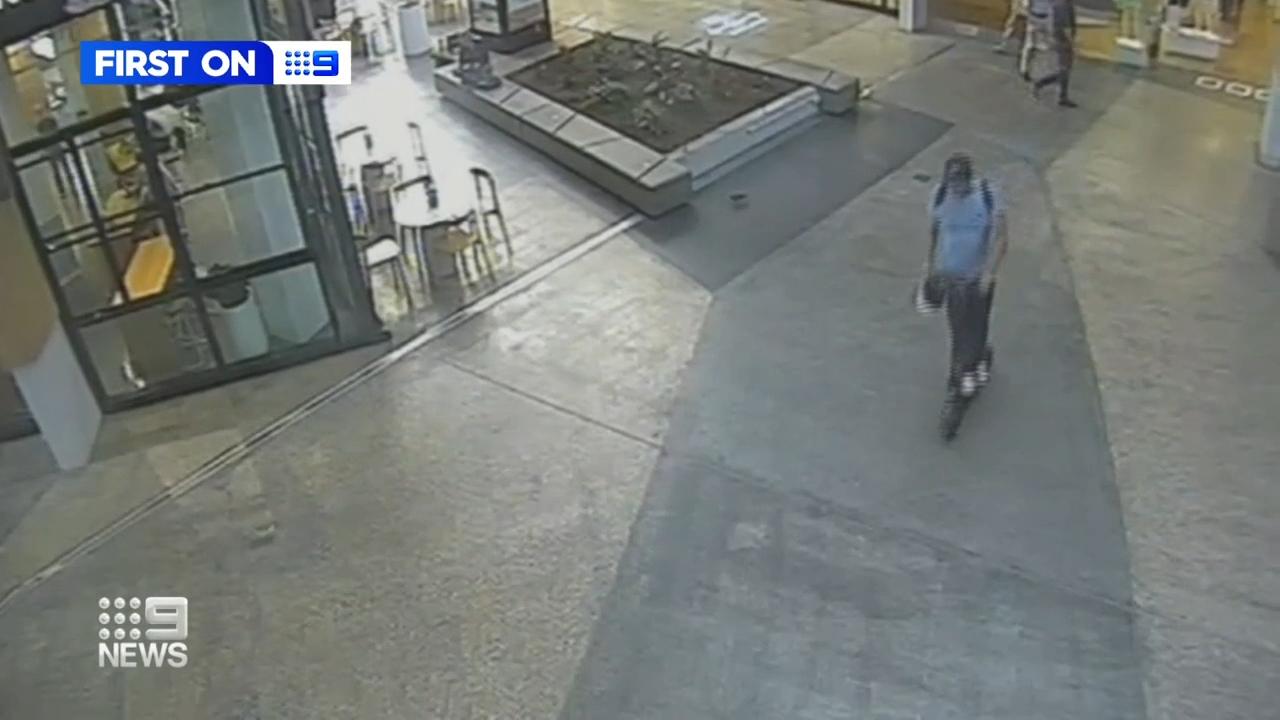 Queenslander pensioner's shocking scooter robbery caught on camera