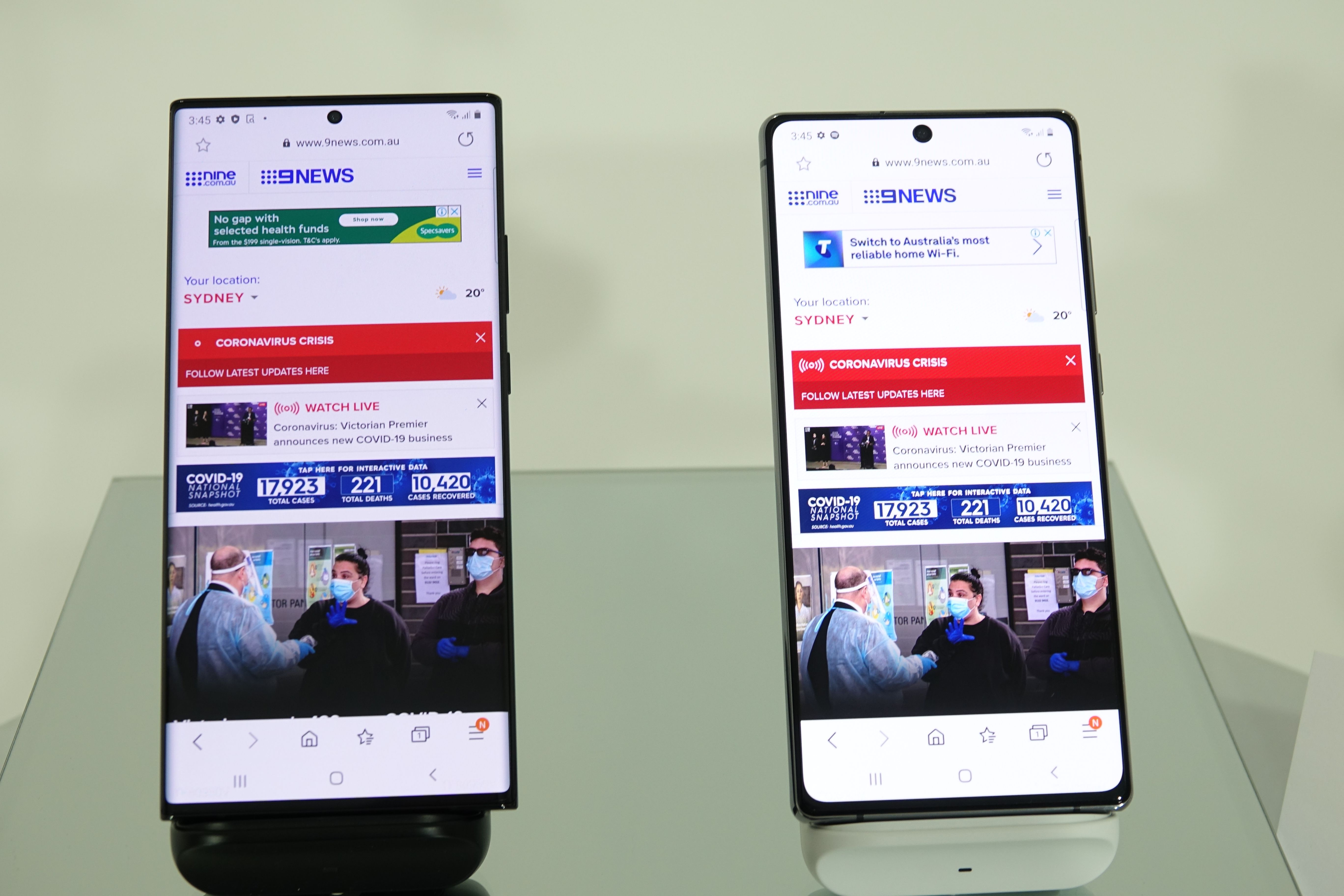 Samsung reveals new Galaxy products