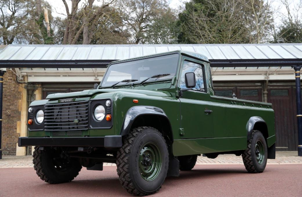 Inside Prince Philip's custom Land Rover hearse