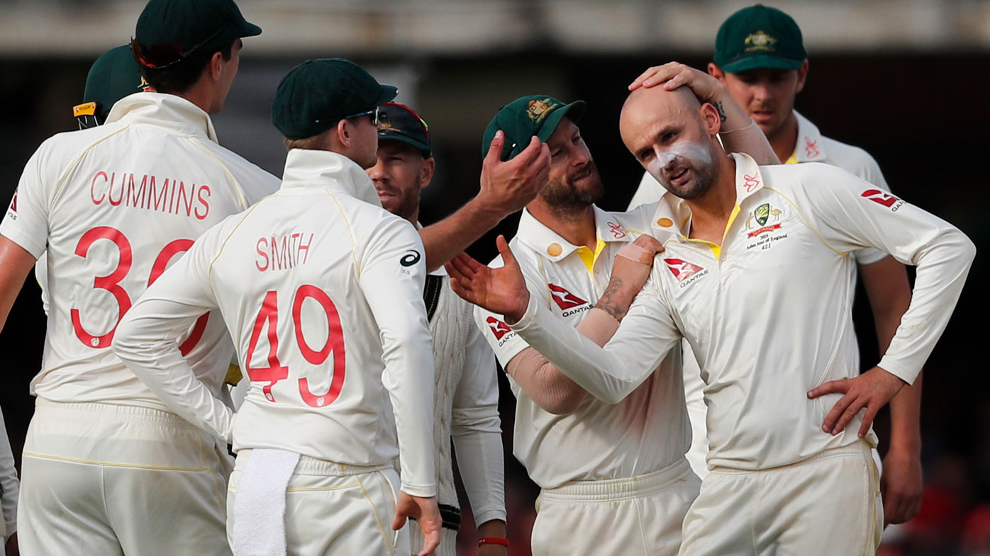 Nathan Lyon took his 355th Test wicket on day two