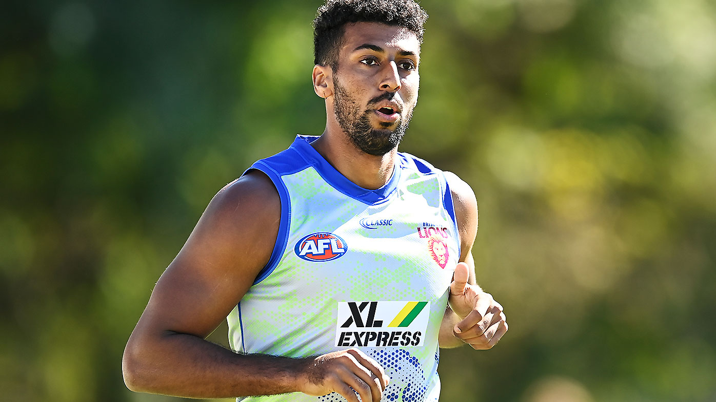 1ea92200 4b5b 49d1 b459 8b1160ea4723 Brisbane Lions big man Archie Smith opens up on younger brother's tragic death