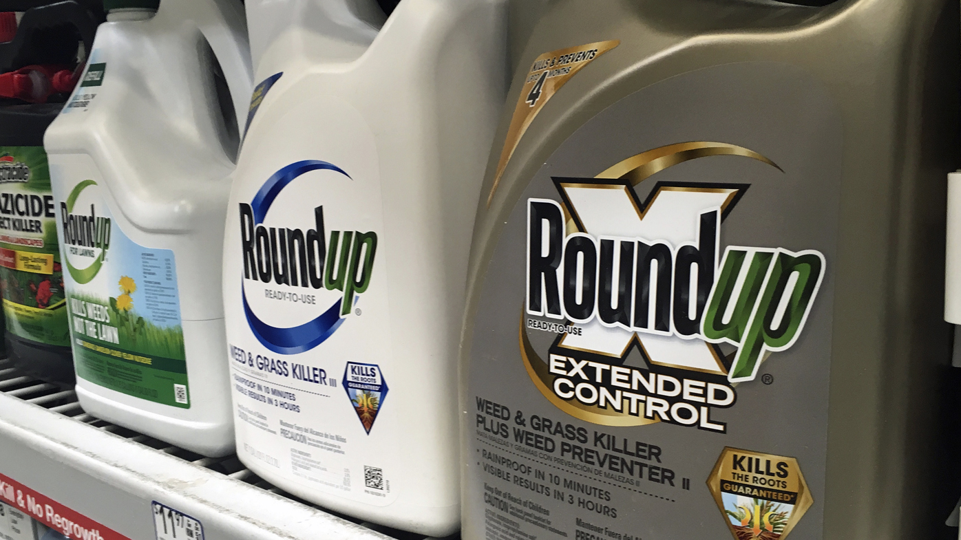 Aussie farmer claims Roundup gave him cancer