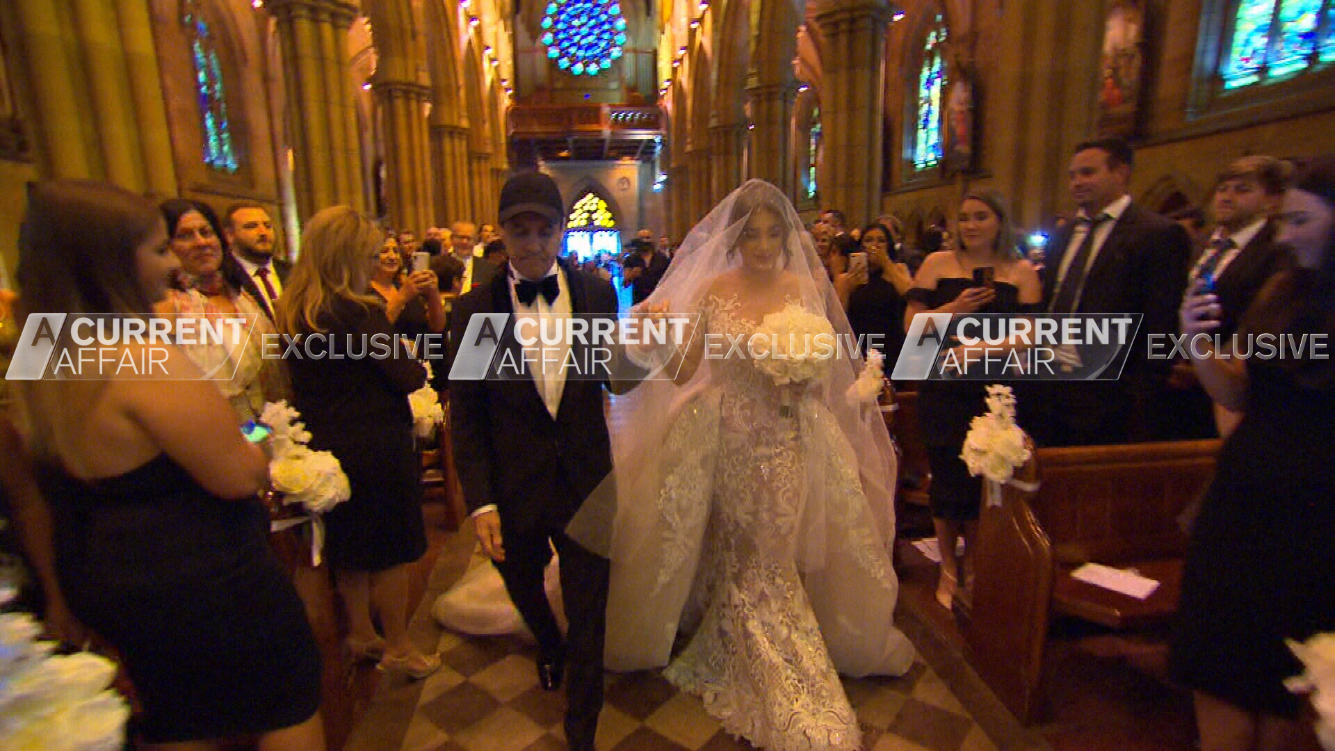 Exclusive: Jeff Fenech surprises daughter at Sydney wedding