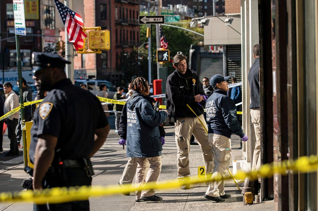 Four homeless men killed in New York City rampage
