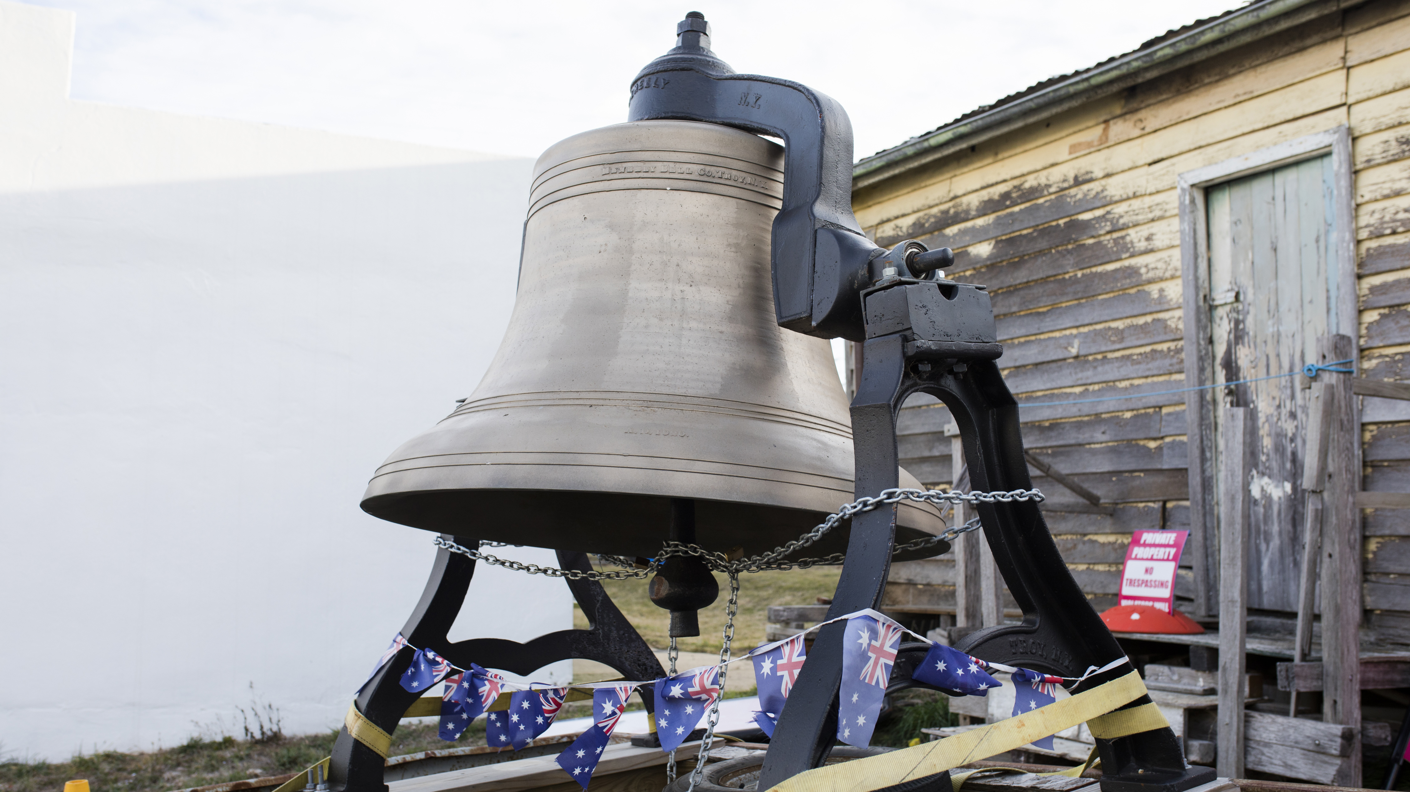 The Nimmity Bell, at Nimmitabel in regional NSW