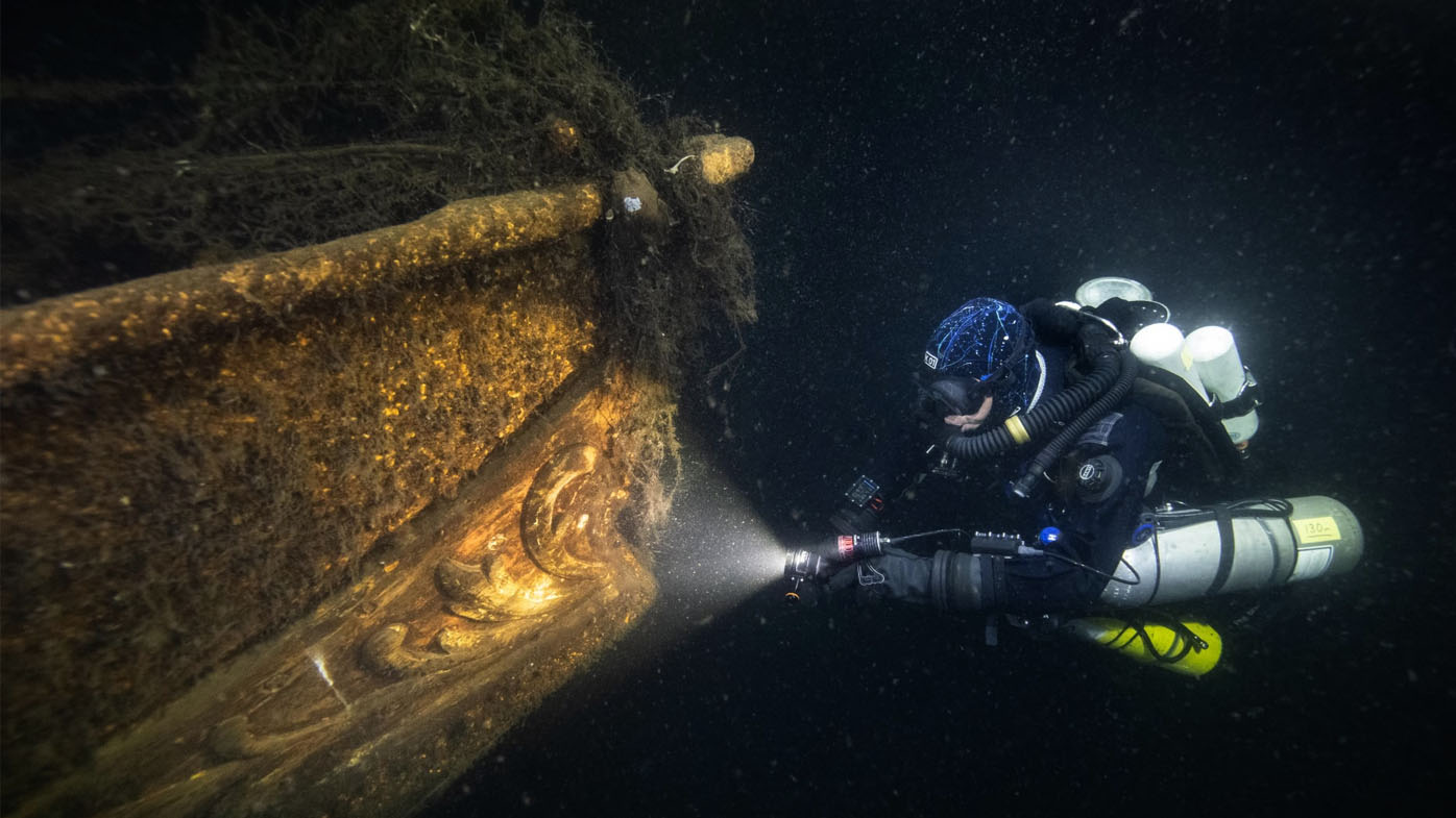 'Eighth wonder of the world' still missing after dive to Nazi ship