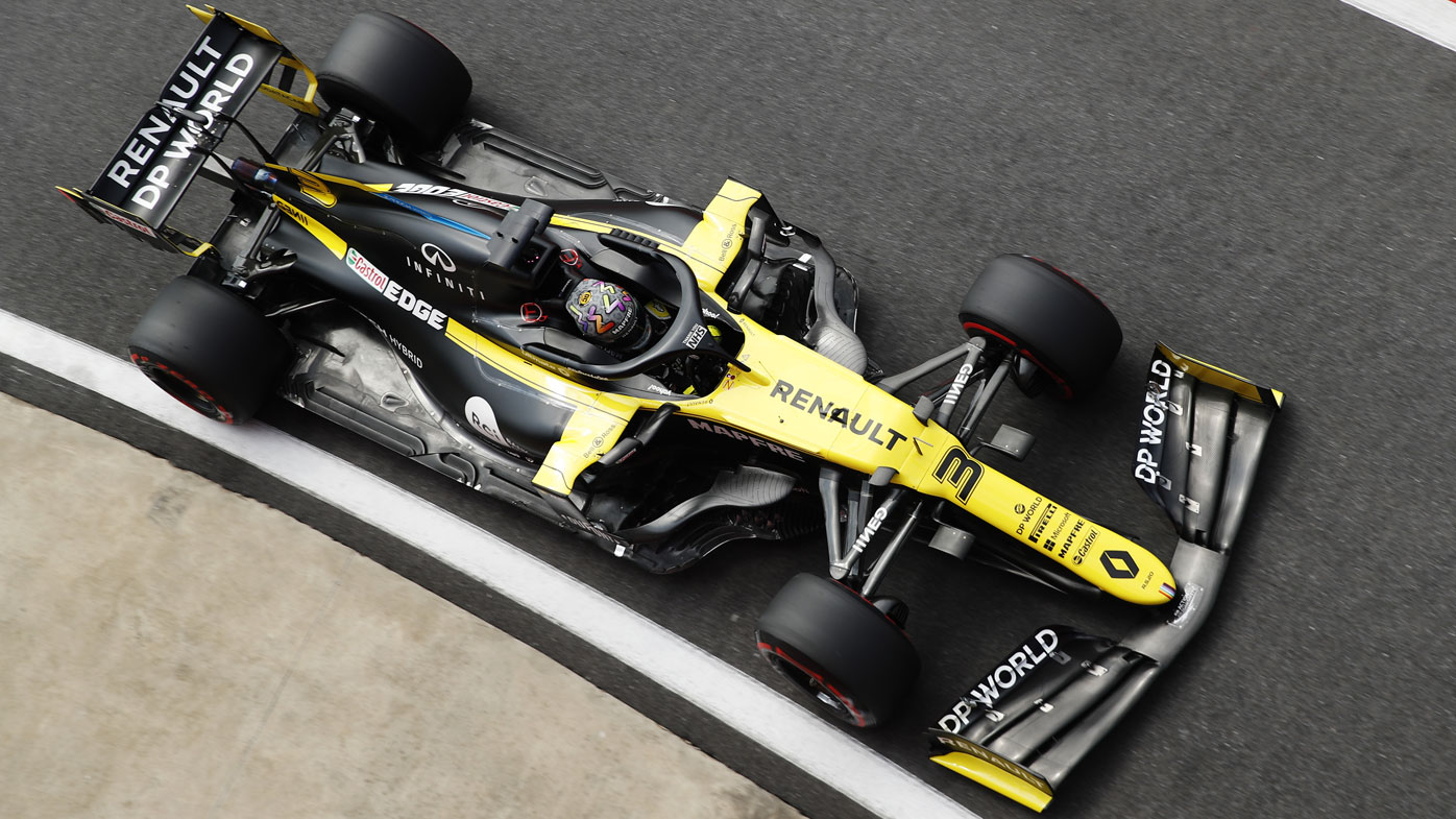 F1 70th Anniversary Grand Prix Qualifying Results Bottas Pole Ricciardo Fifth