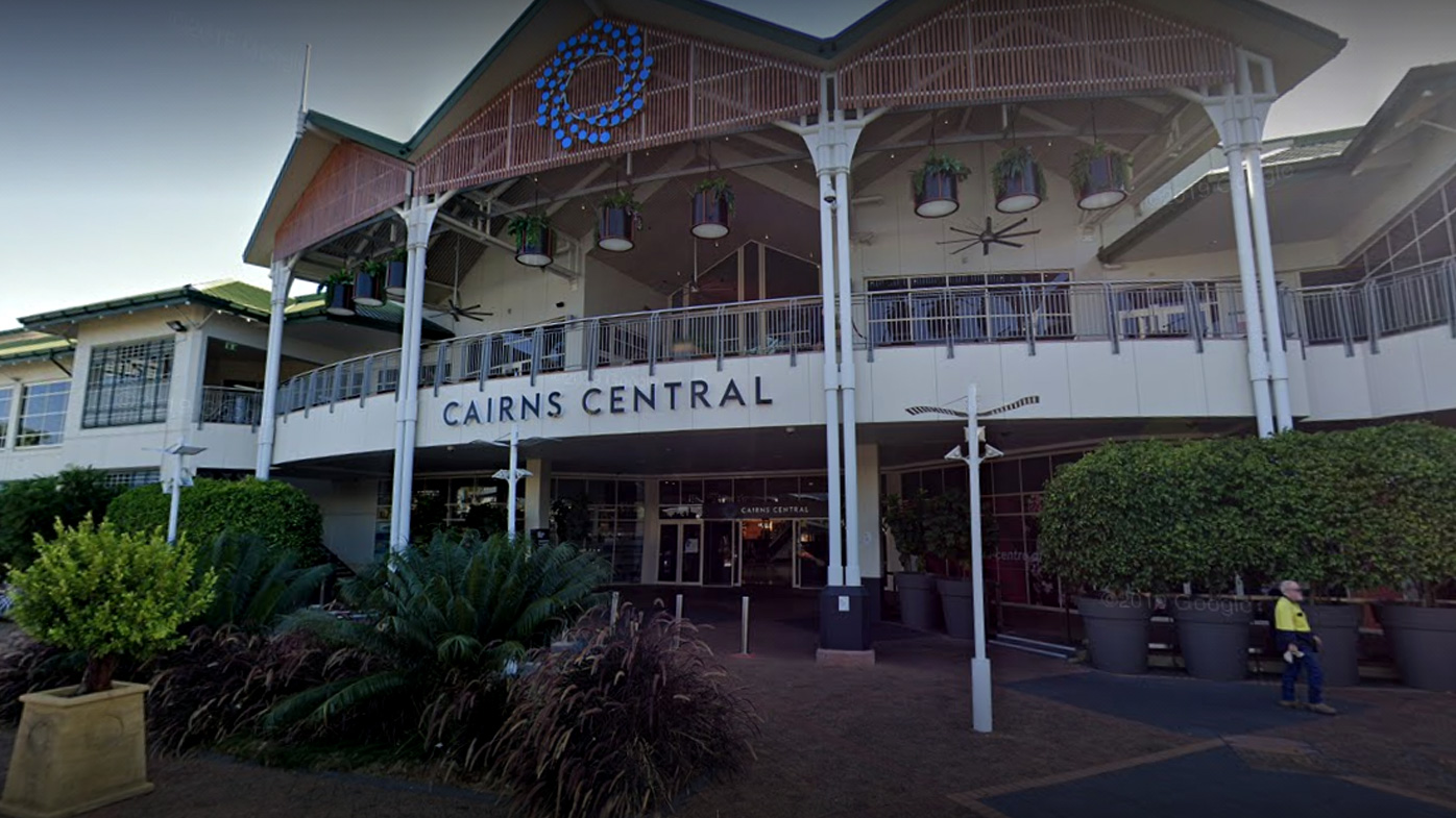 Murder charge laid after man stabbed to death in Cairns shopping centre