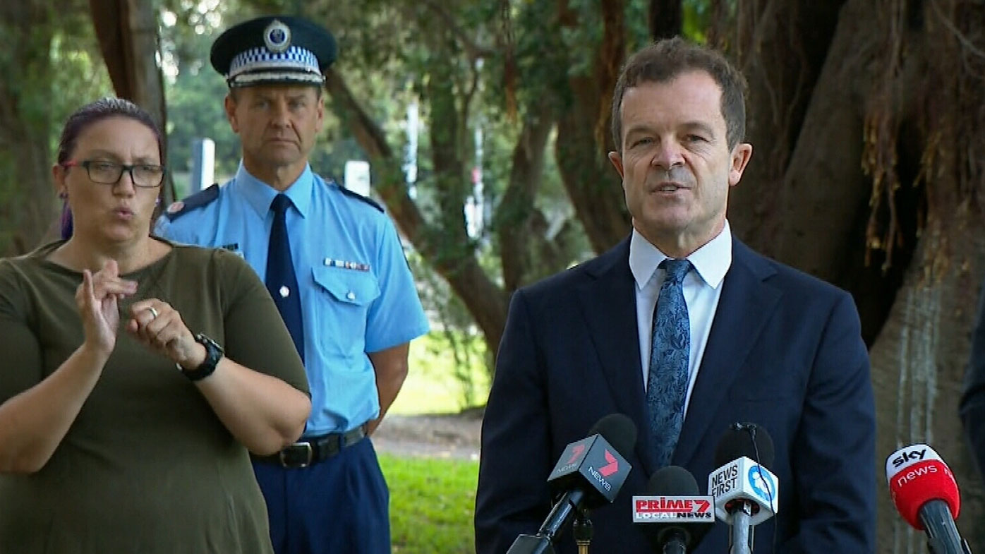 Attorney General and Minister for the Prevention of Domestic Violence Mark Speakman.