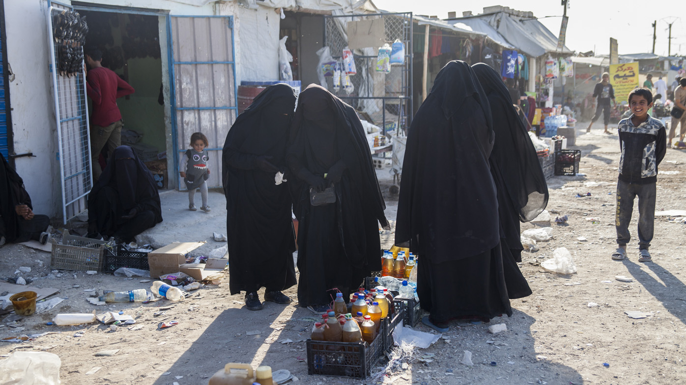 Al Hawl camp, Syria, where around 72,000 people are now residing in Al Hawl camp. Of ... <a target=