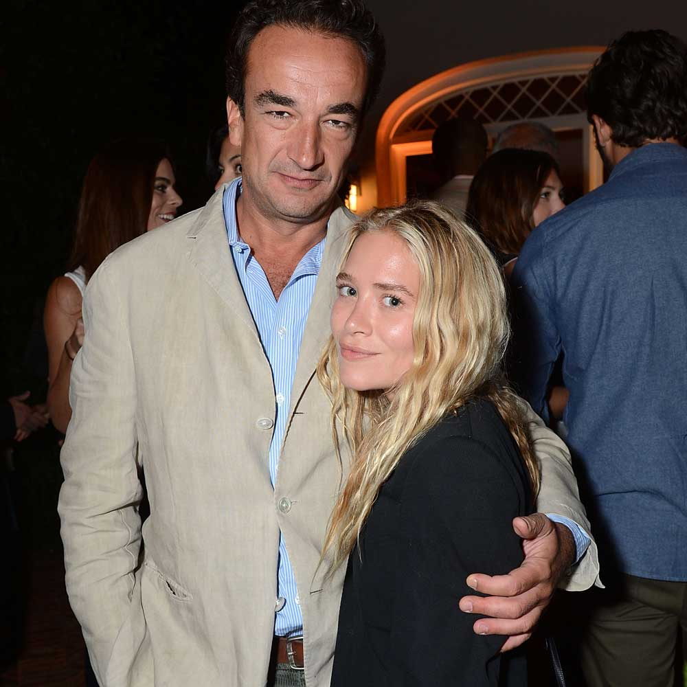 Olivier Sarkozy and Mary-Kate Olsen.