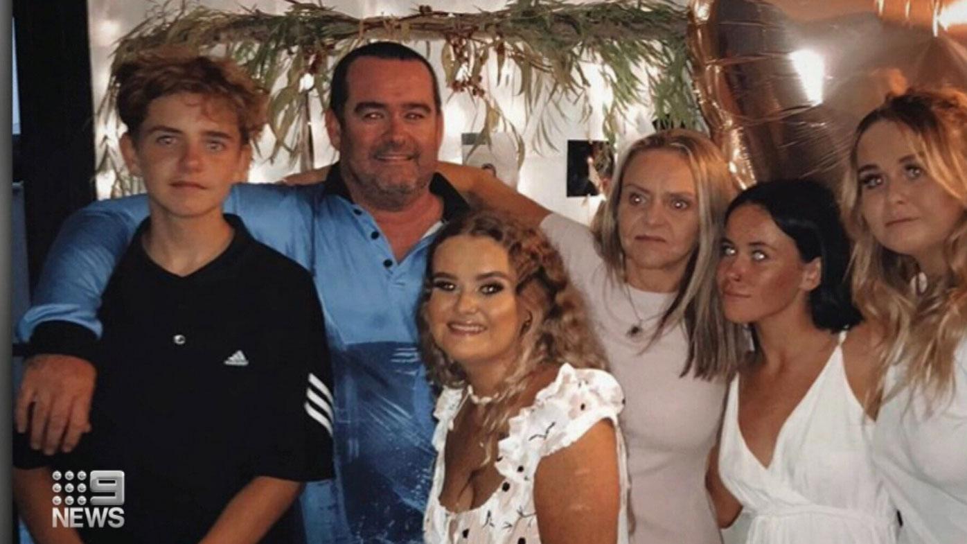 Perth dad Gareth Jones coronavirus West Africa