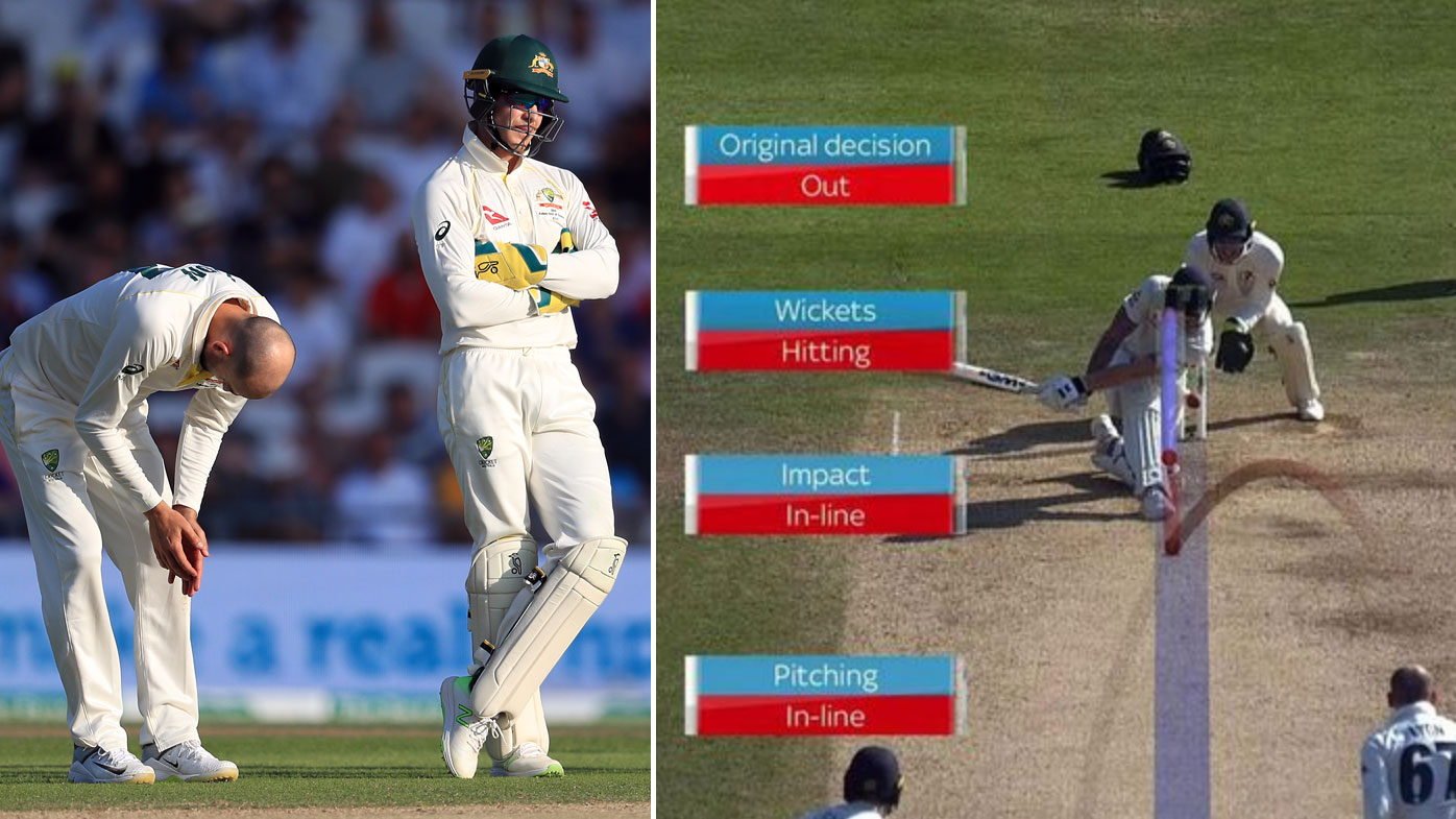 Paine didn't have reviews left to challenge this not-out decision