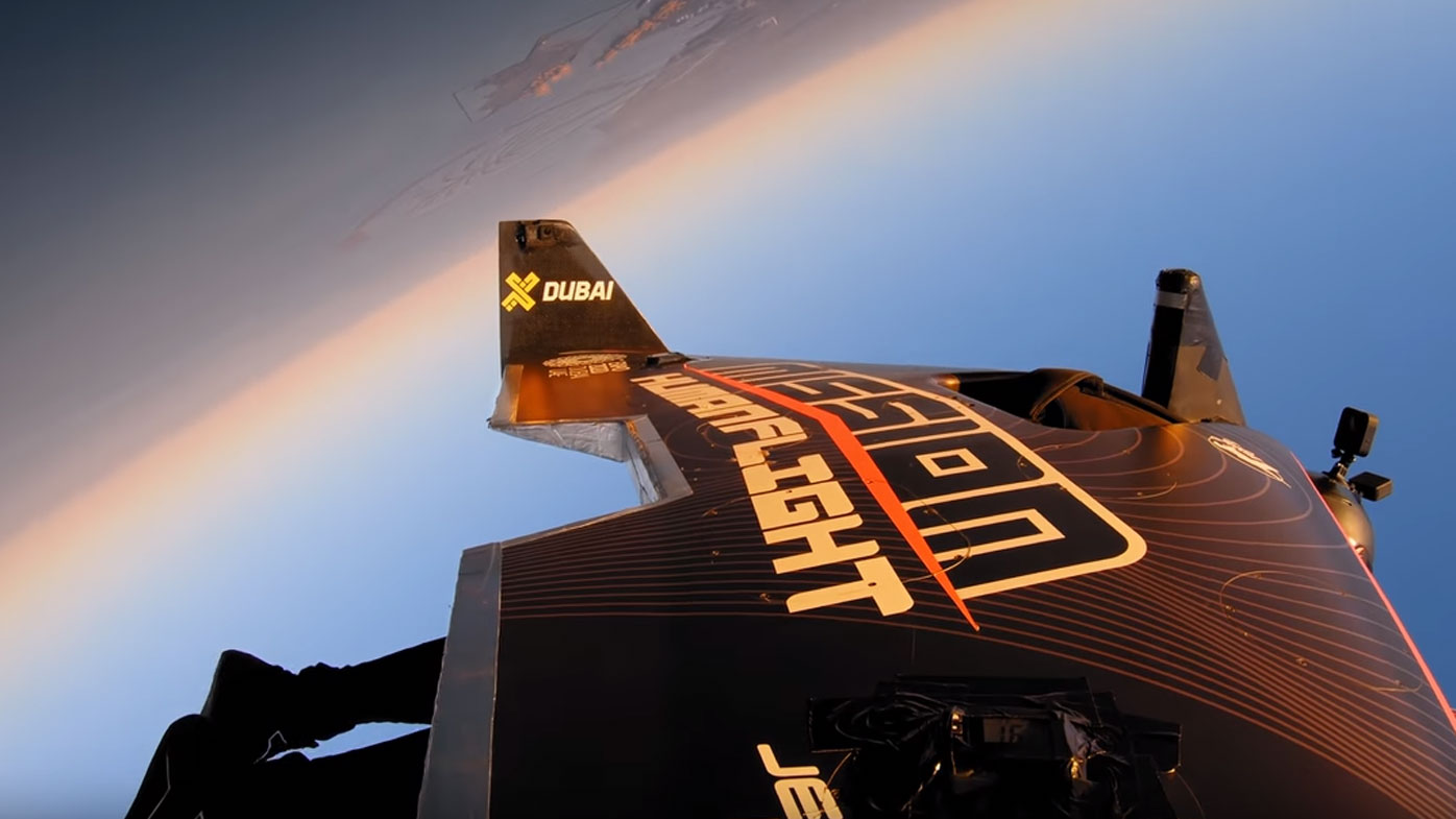 The Jetman wingsuit has redefined flight.