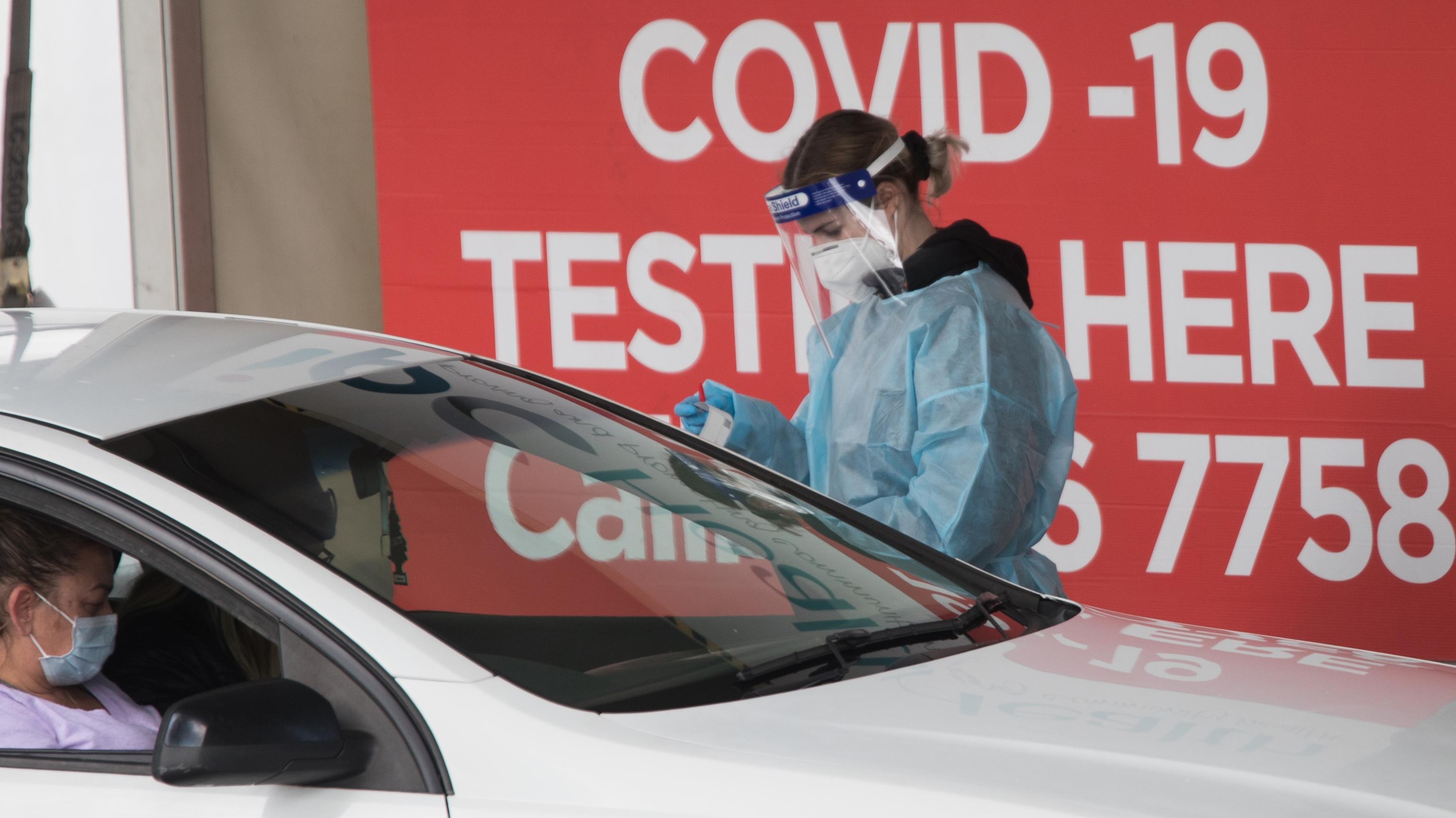 Testing in Deer Park, Melbourne.